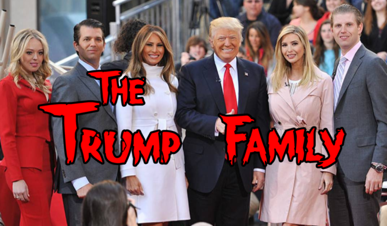 The Trump Family – A Parody of The Addams Family Intro